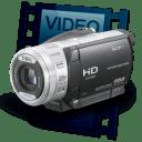 Icone galerie video